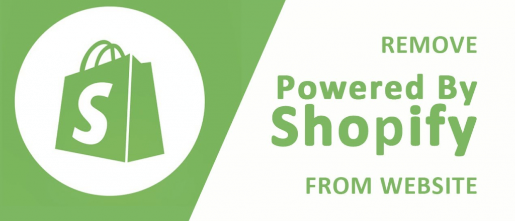 How To Remove Powered By Shopify