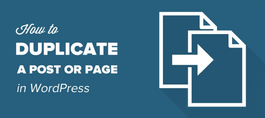 How To Duplicate A Page In Wordpress