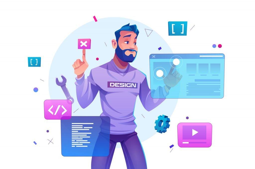 Website development and responsive website design