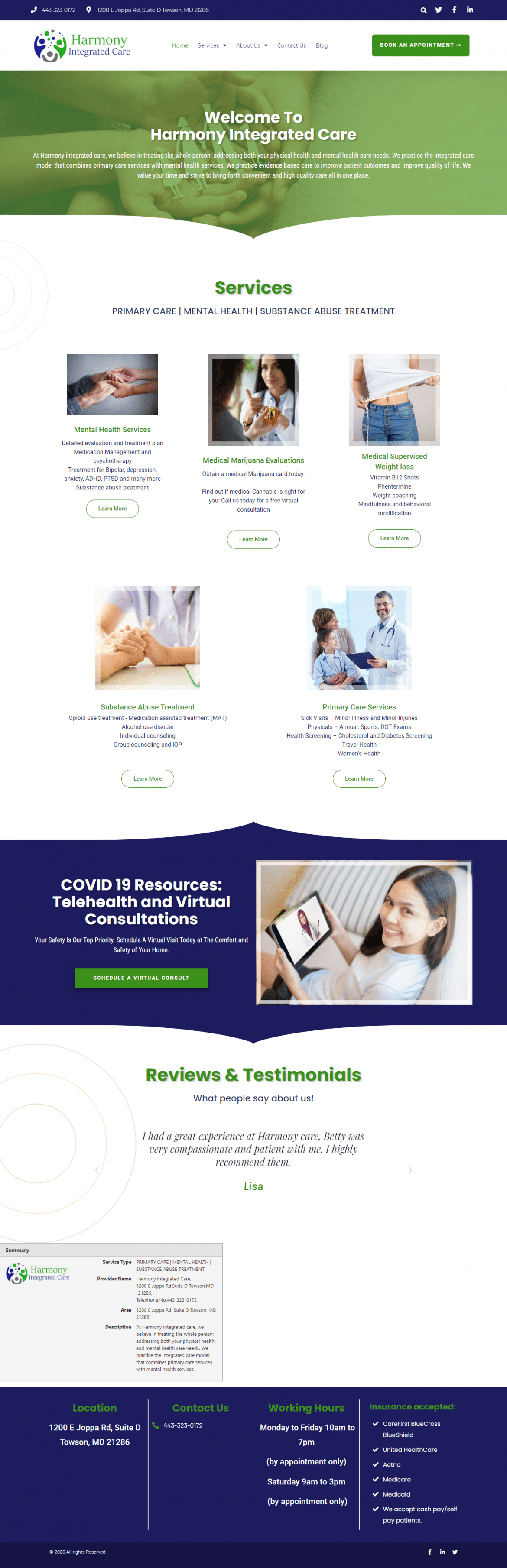 Harmony Integrated Care